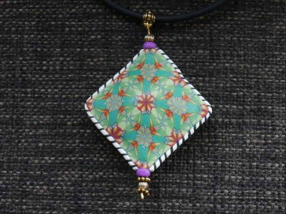 Pendant made from the cane