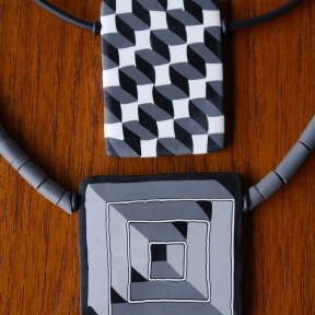 geometric pendants