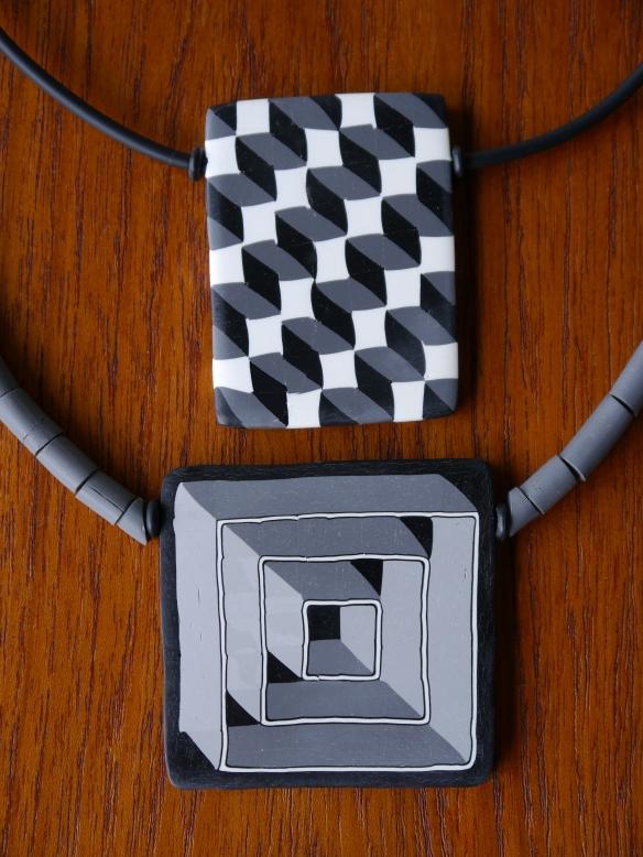 geometric pendants